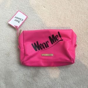 NWT Juicy Couture Makeup Bag