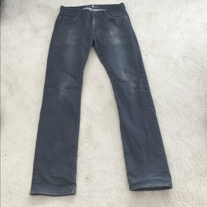 Medium gray 7 for all mankind jeans