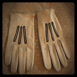 Vintage Deerskin Gloves