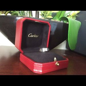 Authentic 18k Cartier love ring