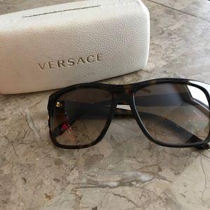Versace Polarized Sunglasses