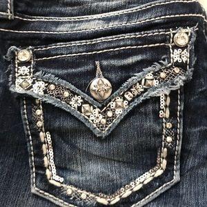 Miss Me Jeans Embellished Size 25