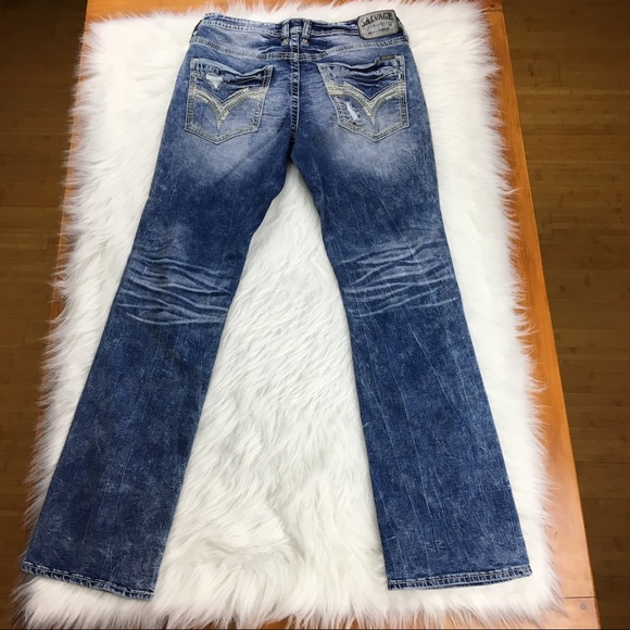 Salvage Jeans - Salvage for Buckle | Mayhem Straight jeans