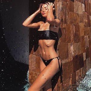 Other - Black String Bikini Set