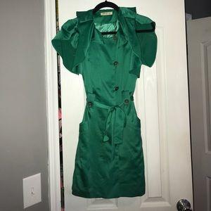 Arden B Ruffle Zipper Dress 👗