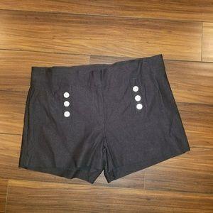 Pants - New Black Sailor Shorts