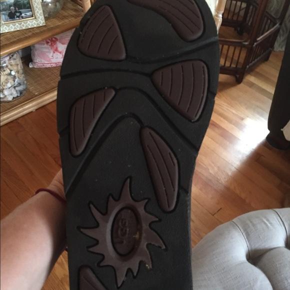 ba3d4253ec0 Ugg authentic over knee boots s/n 5191 brown sz 8