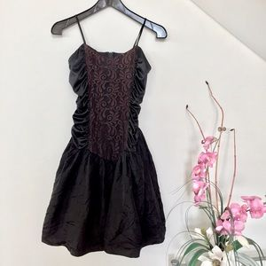 80s Lace Party Dress