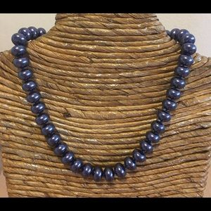 Jewelry - 🛍NEW🌺12mmx 8mm Blue Shell Pearl Necklace ✨✨