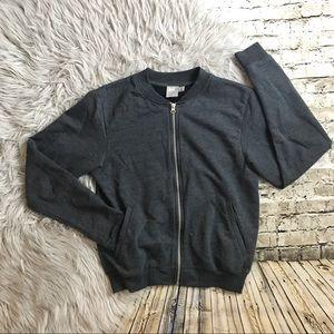 ASOS Jersey Bomber Jacket