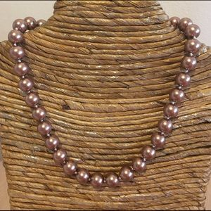 Jewelry - 🛍11.5mm Rose Gold Sea Shell Pearl Necklace✨NEW✨