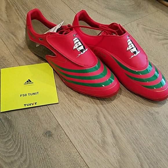 adidas Shoes F50 Tunit Cleats With Studs         Poshmark    adidas Sko   title=          F508 Portugal Tunit Upper Soccer Cleats