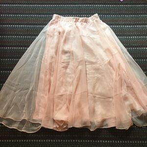 Vintage princesa skirt