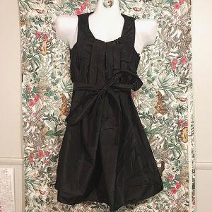 Chloé Black Silk Bubble Dress