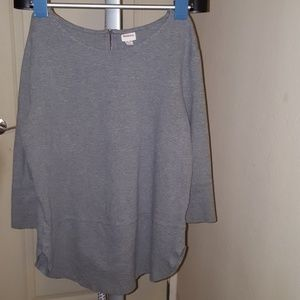 Heather Gray Tunic