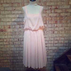 Vintage Blouson Dress