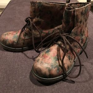 Other - Brand new girls floral combat boots