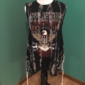 Affliction tank top