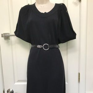 Black dress (belts not included)