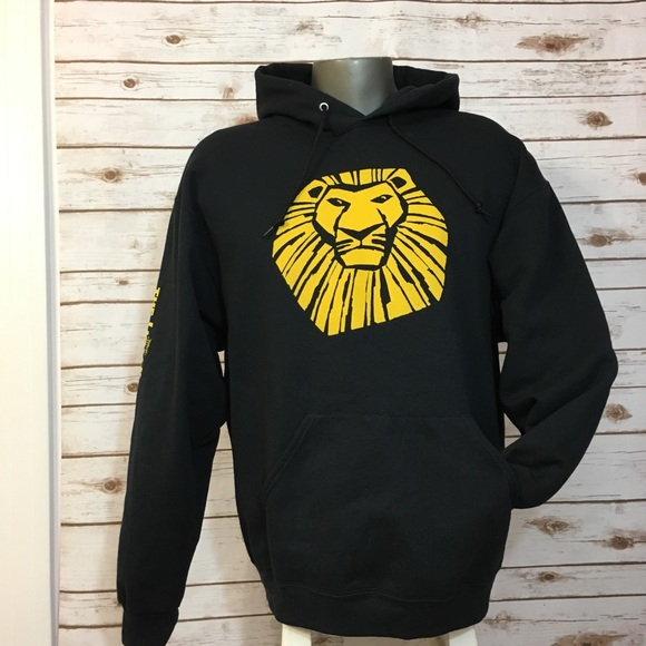 Disney Shirts Lion King Broadway Musical Fleece Hoodie Poshmark