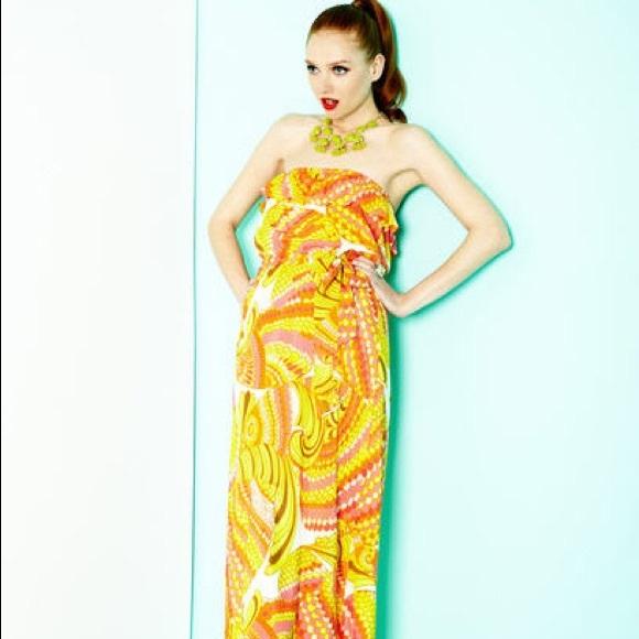 b1e8f07473bd80 Trina Turk for Banana Republic Maxi Dress. M_59c2f3fd99086a0b7b005324
