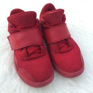 58a431bf111d46 Air Jordan Shoes - Boys youth red Jordan J 23 shoes. Red Jordan s.