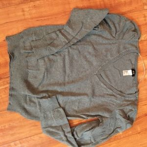 Gray V neck Sweater from H&M