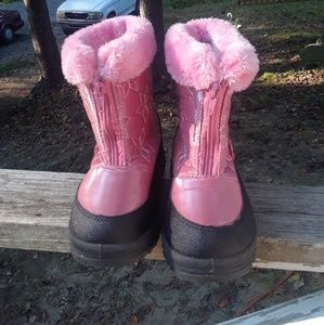 Kid Feet Winter Boots Girl's size 10 Toddler