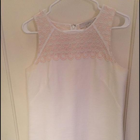 LOFT Dresses & Skirts - White Loft Dress