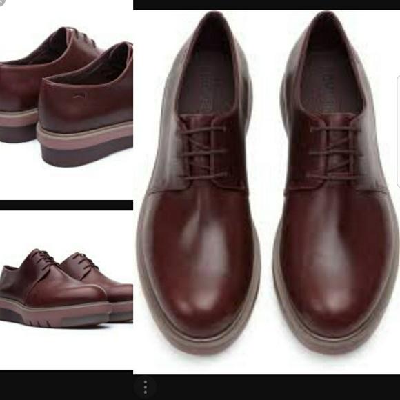 5bdf0c5e278 Camper Shoes - Burgundy CAMPER Marta Platform