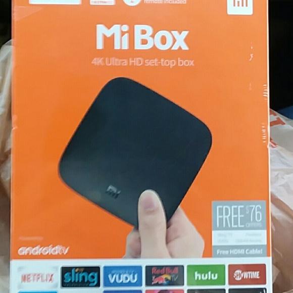 Mi box 4k ultra hd set top box