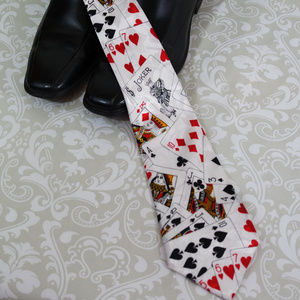 Other - Poker Playing Cards Tie