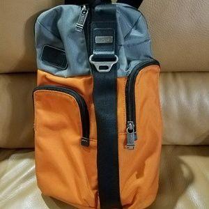 Tumi Sling Crossbody Canvas Backpack