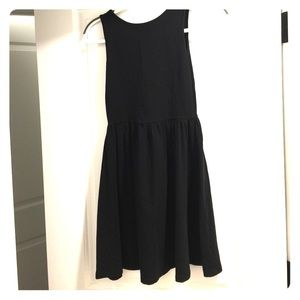Dresses & Skirts - Black Babydoll Mini Dress
