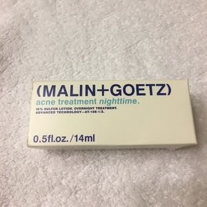 Never opened Malin + Goetz acne treatment