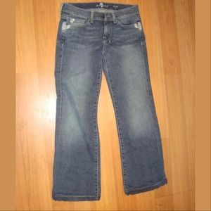 7 For All Mankind Dojo Jeans size 25
