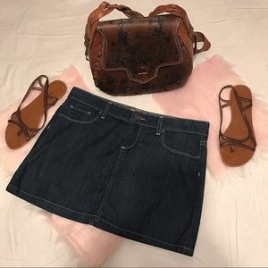 Paige Canyon Mini Jean Skirt