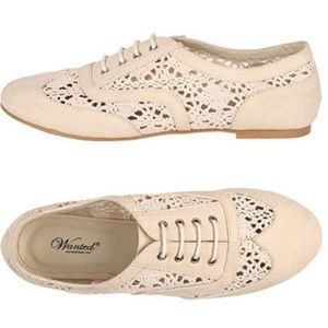 Crochet Oxford by Wanted in Cream Size 7.5