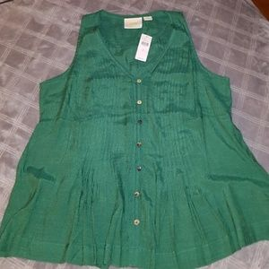 Anthropologie top size small nwt