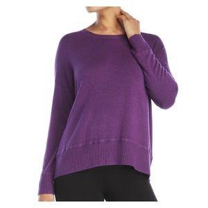 NWT Eileen Fisher Purple Crew Neck Sweater S / M