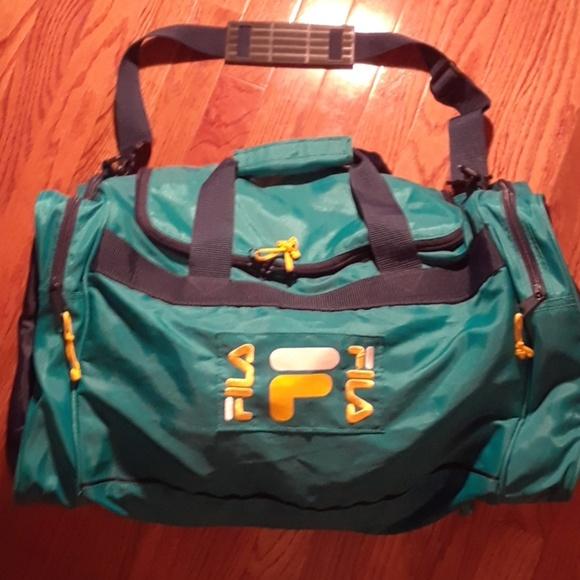 09c32ac8d707 Fila Handbags - Vintage FILA Duffle Bag