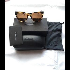 *NEW* DOLCE & GABBANA UNISEX POLARIZED SUNGLASSES