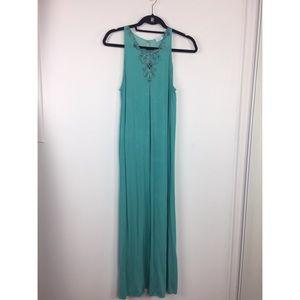 La Perla Turquoise Long Nightgown