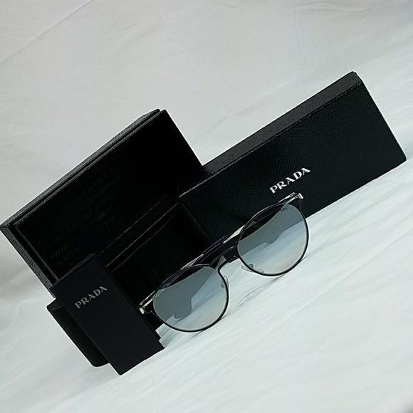 4f43d9e5e1aa3 Authentic Prada 62SS Cinema Blue Sunglasses