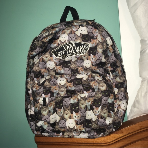 abc58d202aaf Vans ASPCA cat backpack LIMITED EDITION. M_59bdf0e87f0a0504f106732e. Other  Bags ...