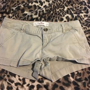 Hollister Beige Shorts