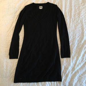 Converse sweater dress