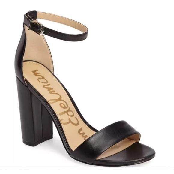 ae713b8ce82a91 Sam Edelman Yoro Ankle Strap Sandal Black 9. M 59bdf384b4188e2aa2067c56