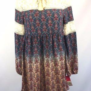 NWT Xhilaration Dress Sz S Target Boho Lined