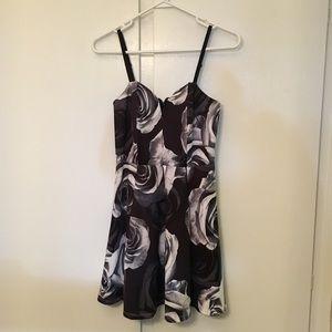 NWT Material Girl Floral Mini Dress